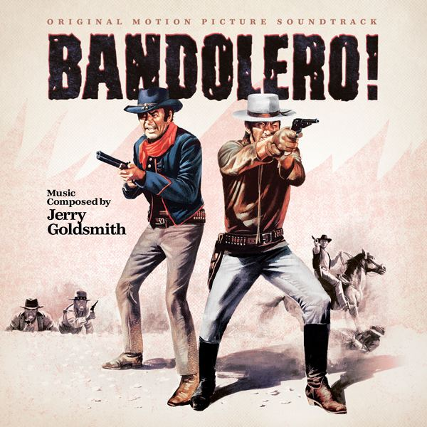 Bandolero! film music movie music film score Bandolero Jerry Goldsmith