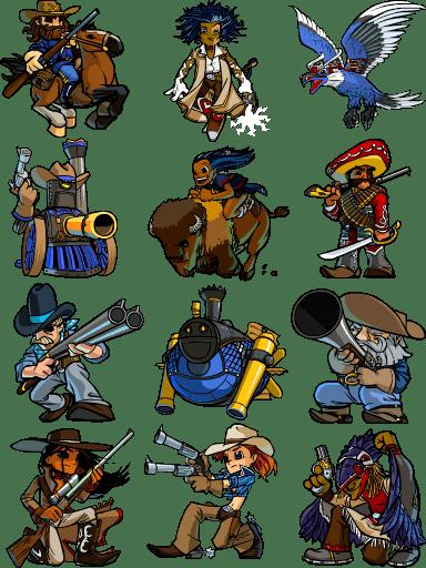 Bang! Howdy Bang Howdy Units by Nemodemos on DeviantArt