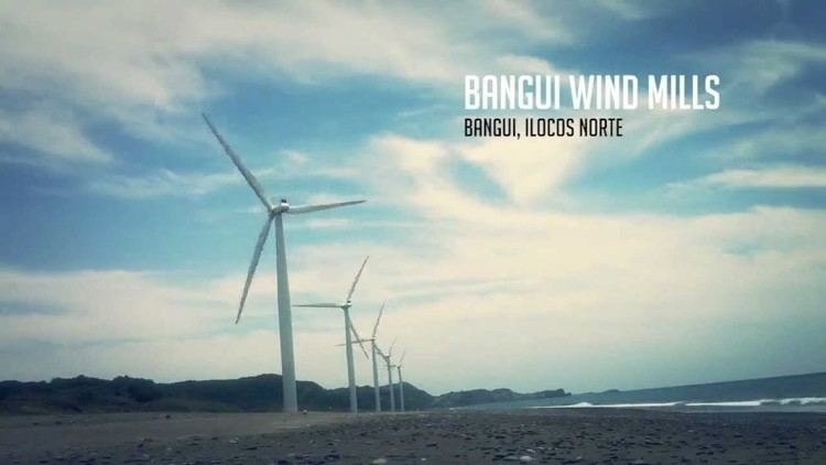 Bangui Wind Farm Bangui Wind Farm at Ilocos Norte Philippines YouTube