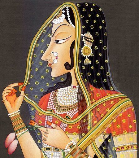 Bani Thani BaniThani Portrait of a Lady who is the Model of Beauty
