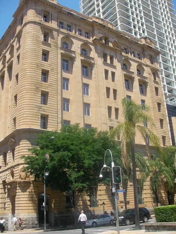 Bank of New South Wales building, Brisbane