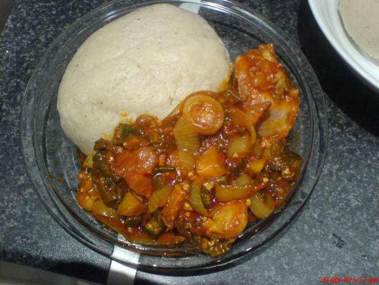 Banku Christmas special How to prepare Ghanaian Banku and okro stew