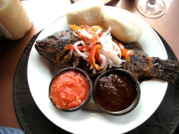 Banku Banku and Tilapia Your Favourite Ghanaian Dish Food Pulse