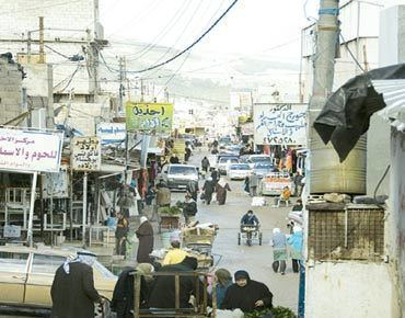 Baqa'a refugee camp