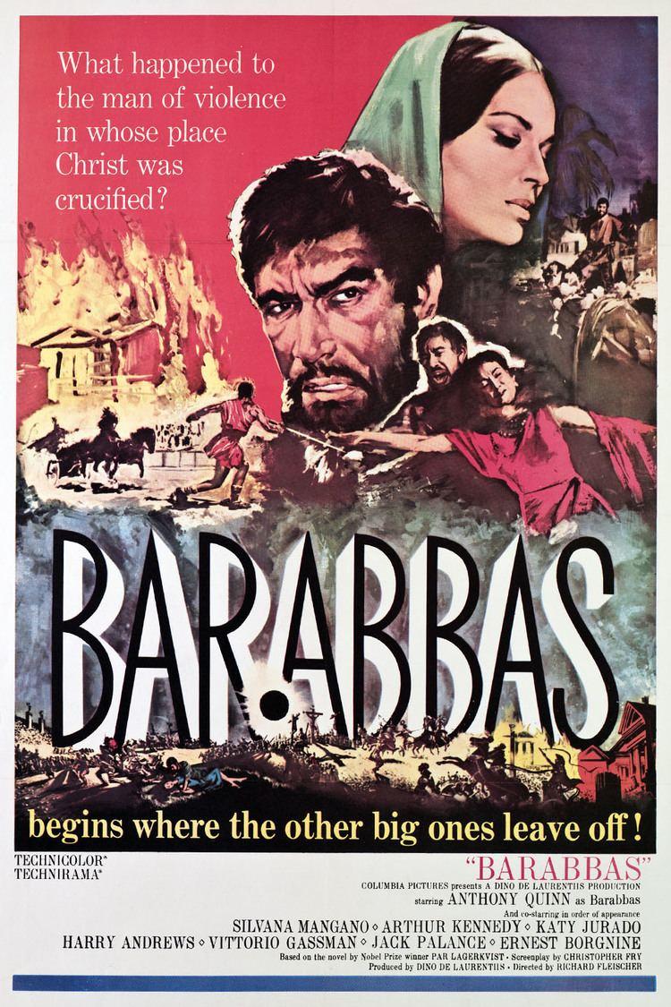 Barabbas (1961 film) wwwgstaticcomtvthumbmovieposters118p118pv