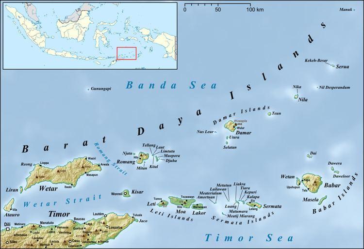 Barat Daya Islands