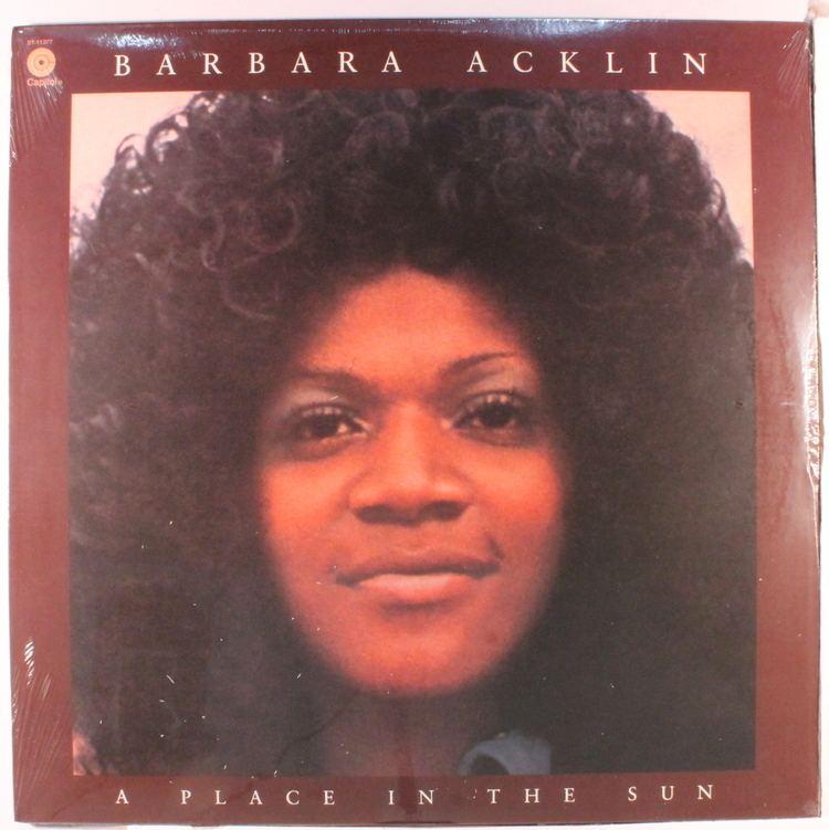 Barbara Acklin Barbara Acklin Records LPs Vinyl and CDs MusicStack