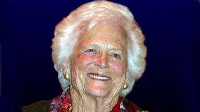 Barbara Bush Barbara Bush The Daily Bret Blog Special Report Bret