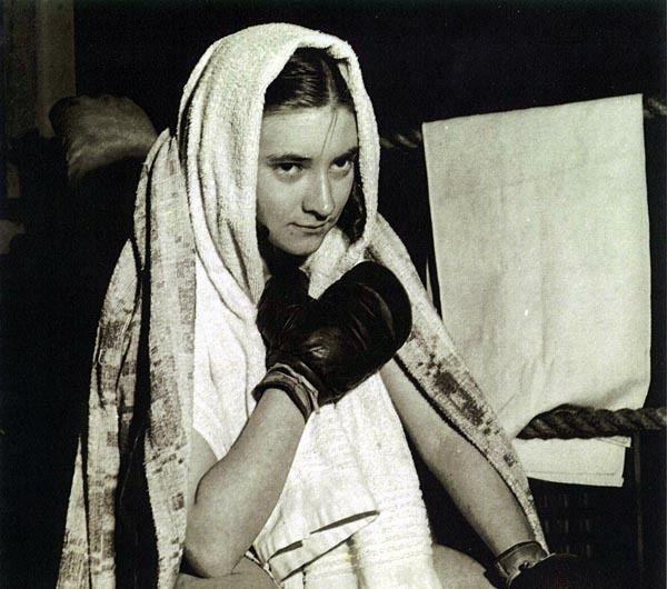 Barbara Buttrick Barbara Buttrick Pioneer Female Boxer Barbara Buttrick