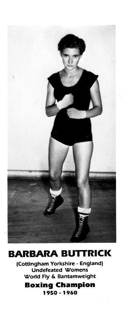 Barbara Buttrick Video Clip on Pioneer Boxer Barbara Buttrick 1949