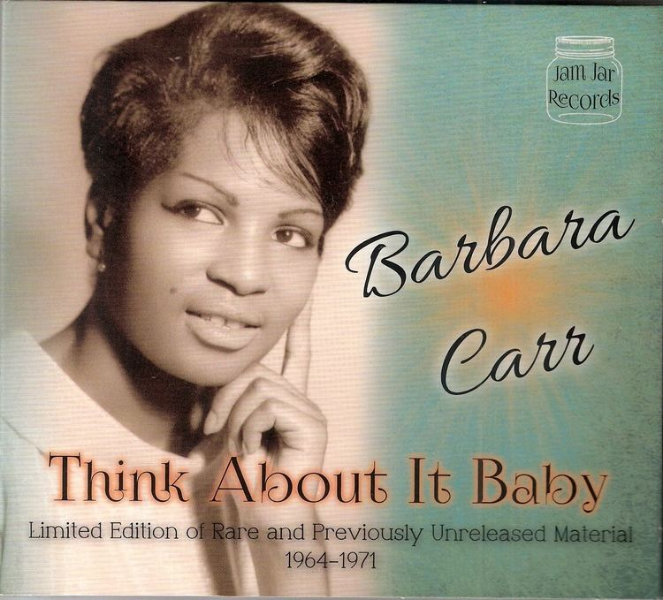 Barbara Carr Bluebeat Music Carr Barbara Think About It Baby LTD Edition