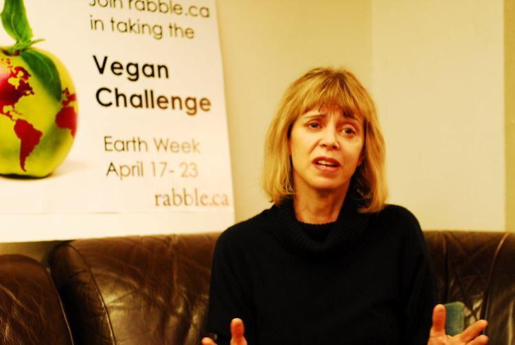 Barbara Gowdy Novelist Barbara Gowdy launches PSAs for Vegan Challenge