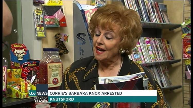 Barbara Knox Coronation Street Actress Barbara Knox Arrested For Drink Driving