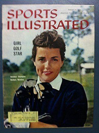 Barbara McIntire 1960 Sports Illustrated August 22 Barbara McIntire Golfer