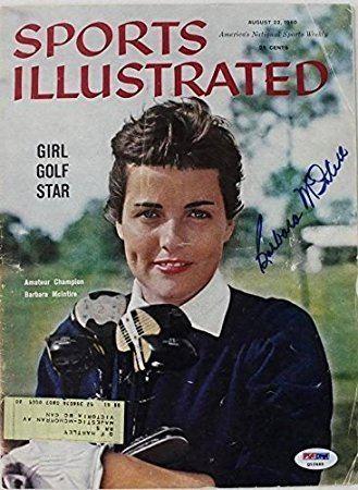 Barbara McIntire Barbara Mcintire Golf Signed Sports Illustrated 1960 Q12465 PSA