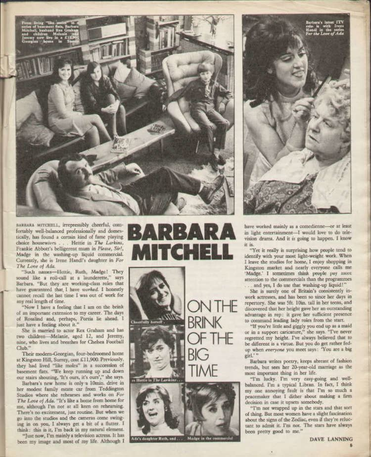Barbara Mitchell Barbara Mitchell