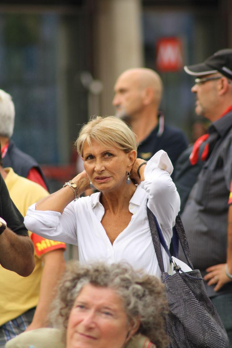Barbara Pollastrini FileBarbara Pollastrini Milano Sciopero generale by