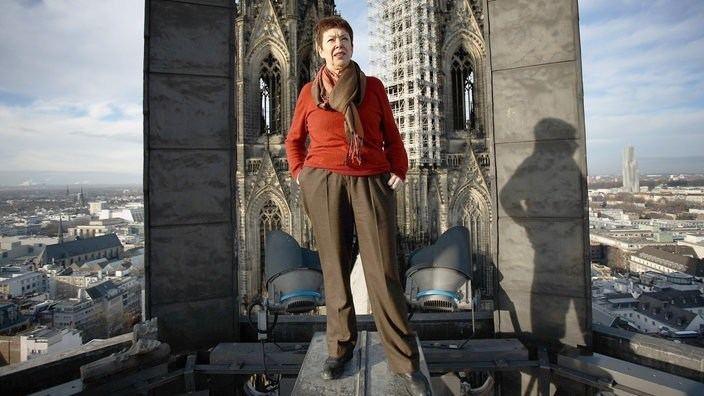 Barbara Schock-Werner Barbara SchockWerner frhere Dombaumeisterin Kultur Architektur