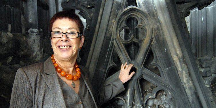 Barbara Schock-Werner Ehemalige Dombaumeisterin Barbara SchockWerner im Historischen