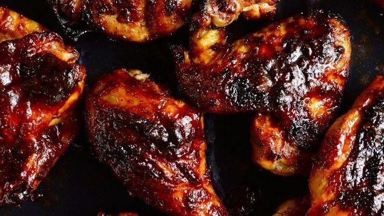 Barbecue chicken BBQ Chicken Recipe Bon Apptit Recipe Bon Appetit