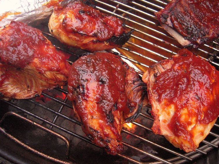 Barbecue chicken Barbecue chicken Wikipedia