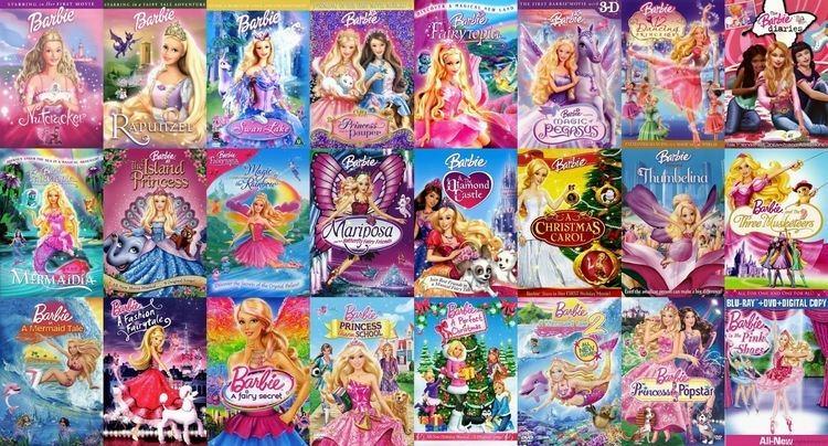 Barbie (film series) Free Barbie Movies List Of All Barbie Full MoviesBarbie Movies