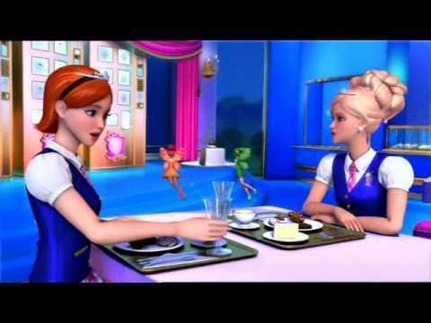 Barbie: Princess Charm School movie scenes Portia from Barbie Princess Charm School