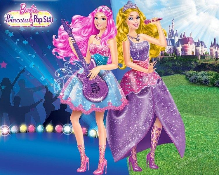 Barbie  The Princess   the Popstar Barbie The Princess And The Popstar Game  Movies for c8a41d27be7