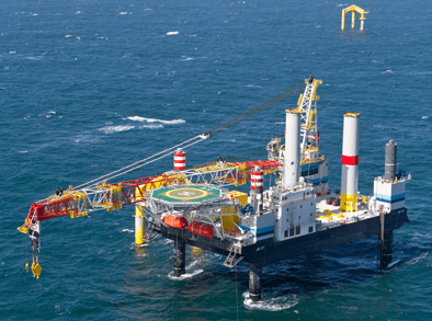 BARD Offshore 1 New vessel for Bard Offshore I Sun amp Wind Energy