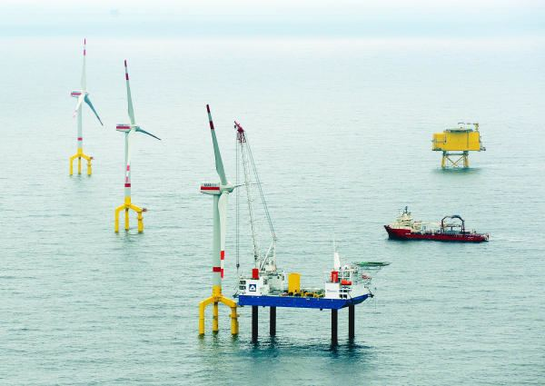 BARD Offshore 1 Germany opens first commercial offshore wind farm I Science