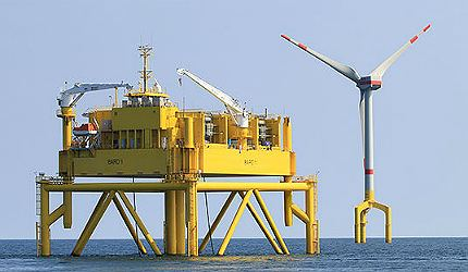 BARD Offshore 1 BARD Offshore I Wind Farm North Sea Power Technology