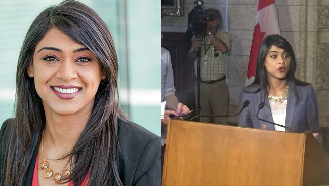 Bardish Chagger Small Business Minister Bardish Chagger Becomes House Leader In