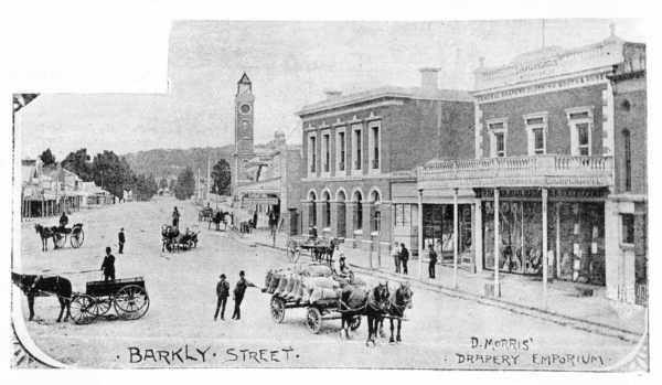 Barkly East in the past, History of Barkly East