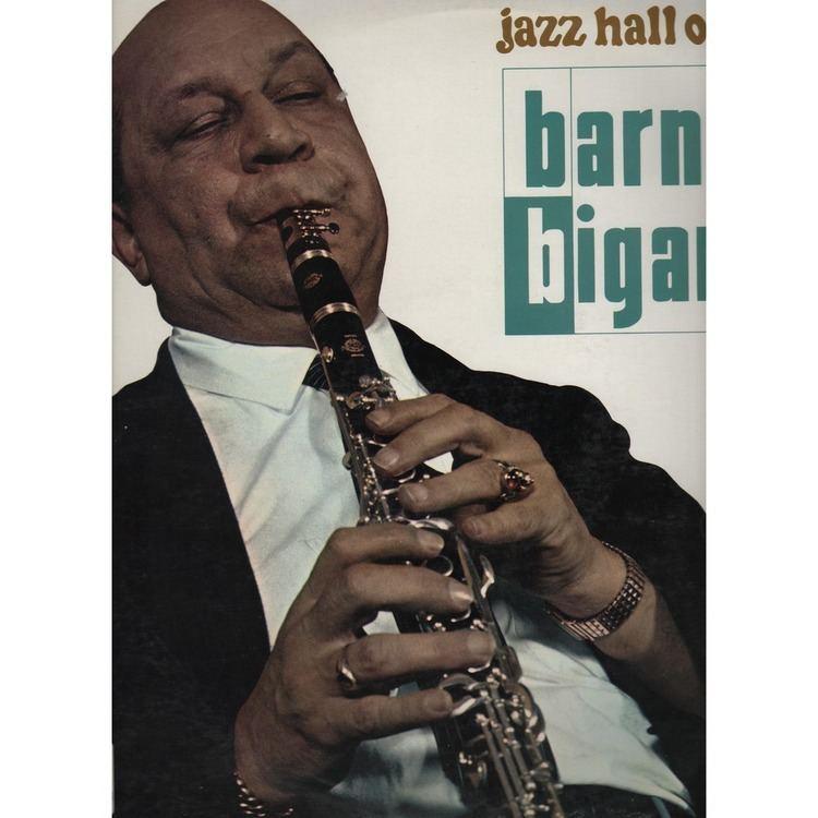 Barney Bigard jazz hall of fame by BARNEY BIGARD LP with prenaud Ref