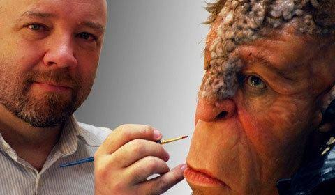 Barney Burman Star Trek The Man Behind the Makeup Barney Burman
