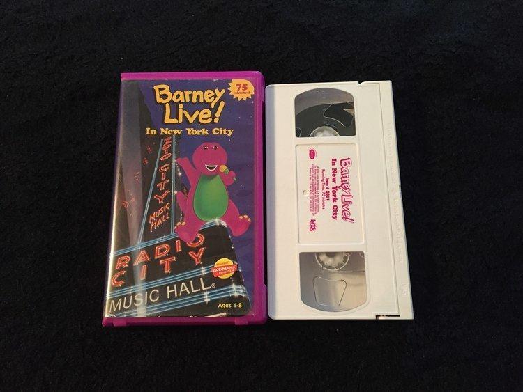 Barney Live in New York City - Alchetron, the free social