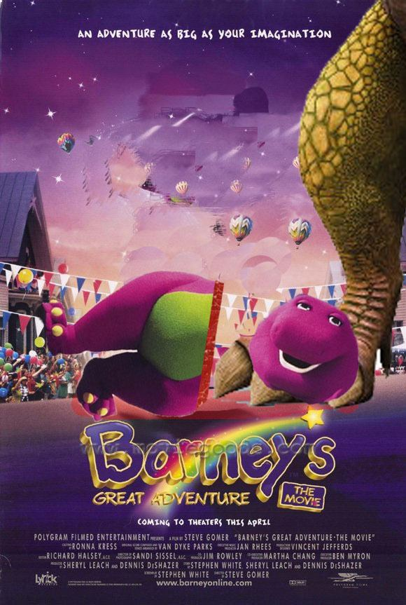 Barney's Great Adventure Barneys Great Adventure The R rated version by thearist2013 on