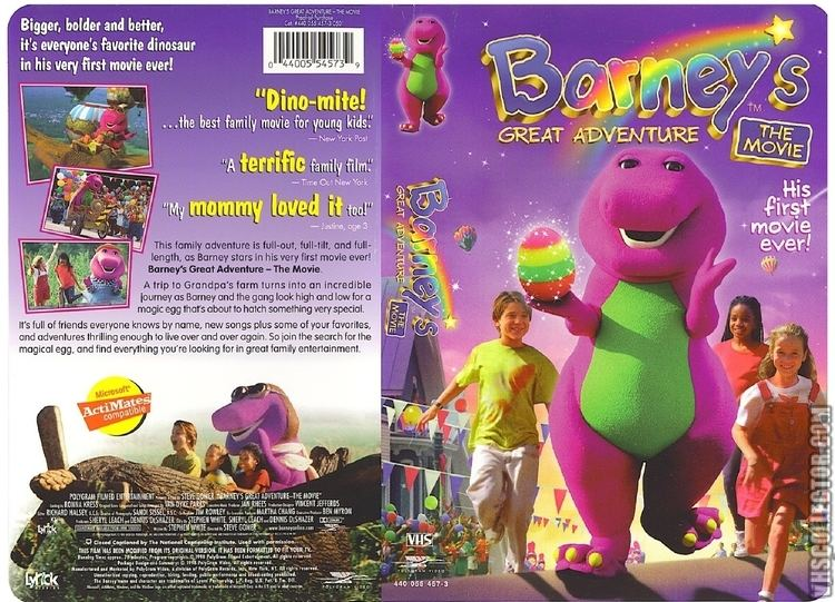 Barney's Great Adventure Barneys Great Adventure VHSCollectorcom Your Analog Videotape