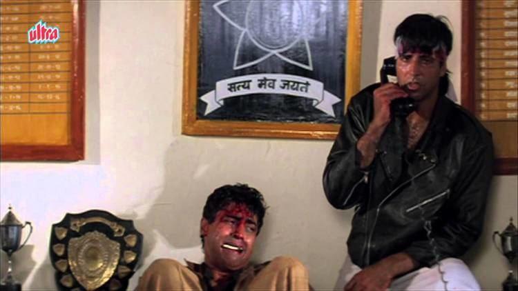 Akshay Kumar Mohnish Behl Barood Action Scene 89 YouTube