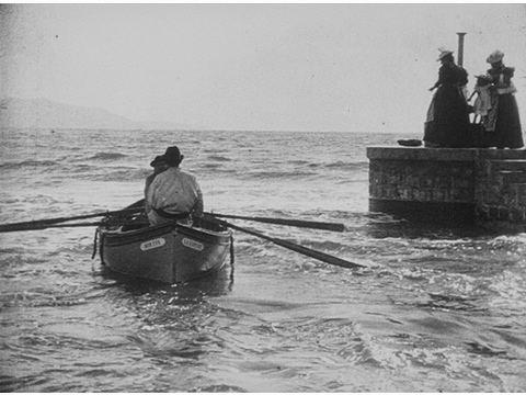 Barque sortant du port Barque sortant du port Catalogue Lumire
