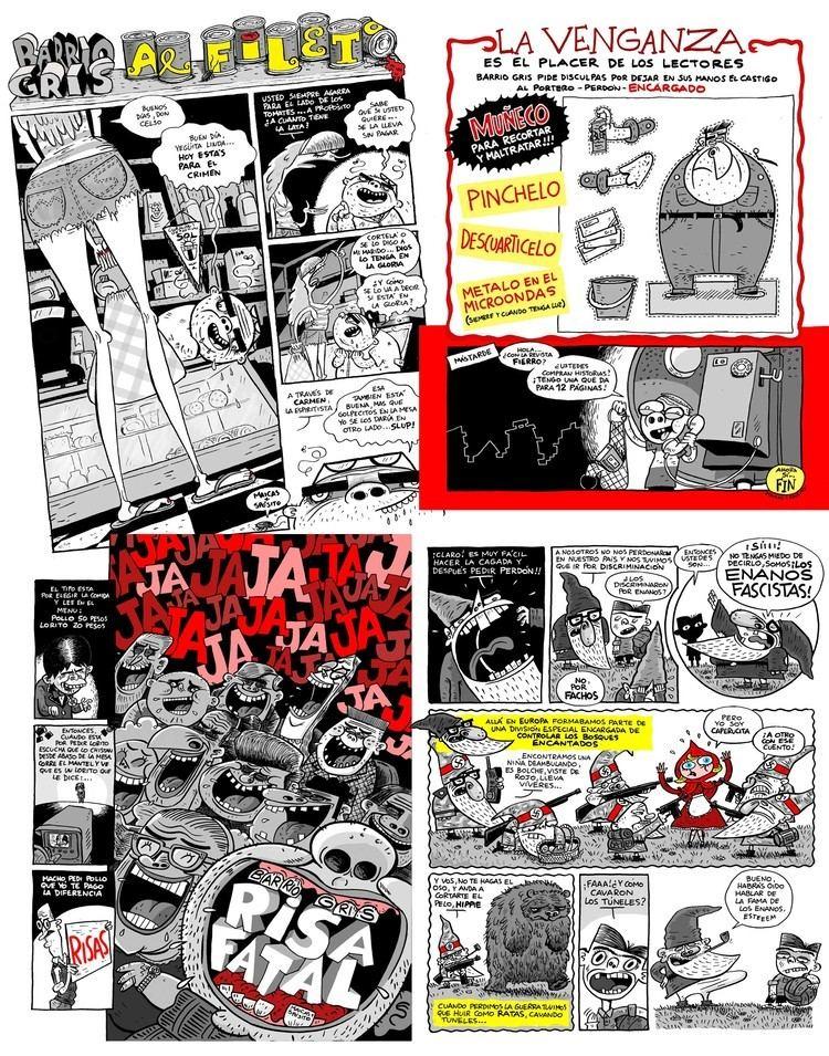 Barrio Gris Novedades del Mundo del Comic Argentino tintadehistorietacomar