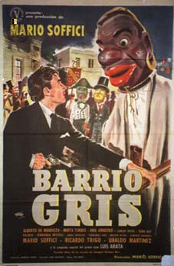 Barrio Gris BARRIO GRIS MOVIE POSTER BARRIO GRIS MOVIE POSTER