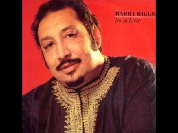 Barry Biggs Barry Biggs so in love reggae music YouTube