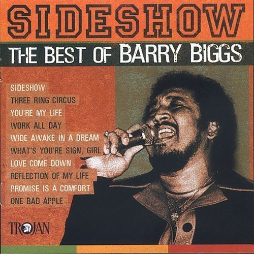 Barry Biggs Sideshow The Best of Barry Biggs Barry Biggs Songs Reviews