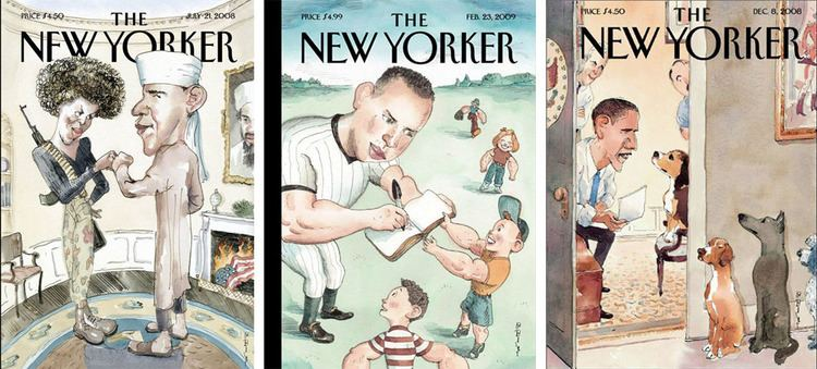 Barry Blitt Another brilliant New Yorker cover illustration by Barry