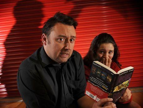 Barry Hutchison Author Barry Hutchison On Horror and Horsemen Tour Scottish Book Trust