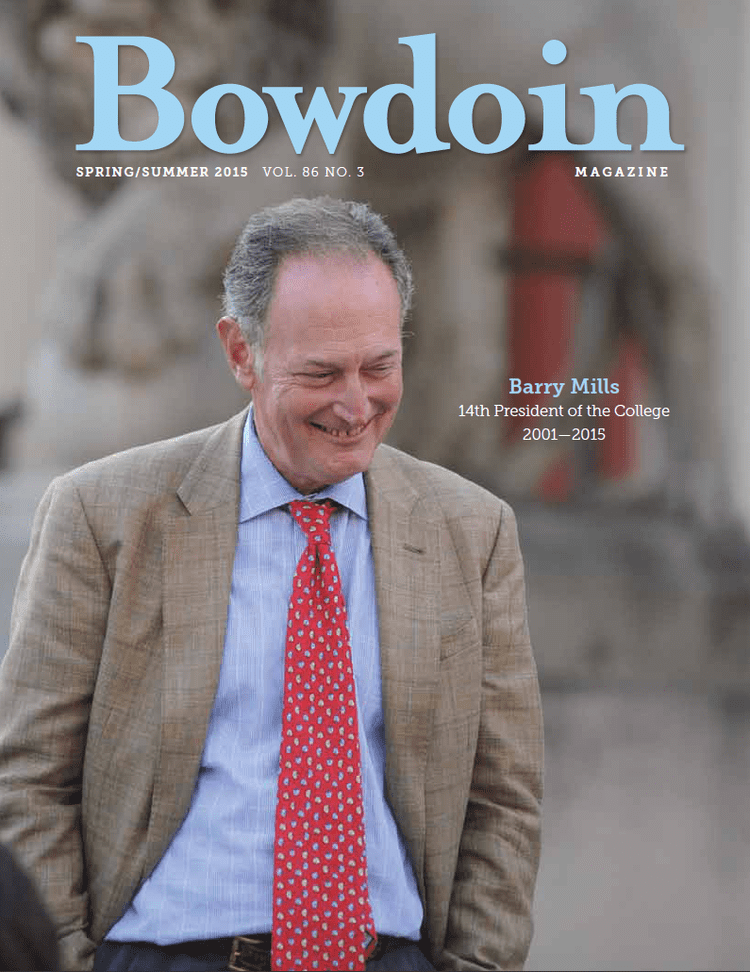 Barry Mills (college president) Bowdoin Says Goodbye to Barry Mills