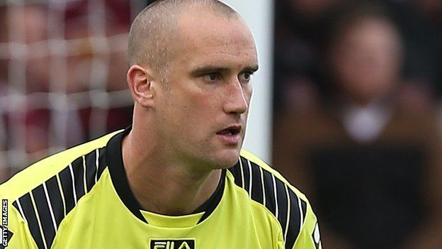 Barry Roche BBC Sport Barry Roche Morecambe goalkeeper out for the
