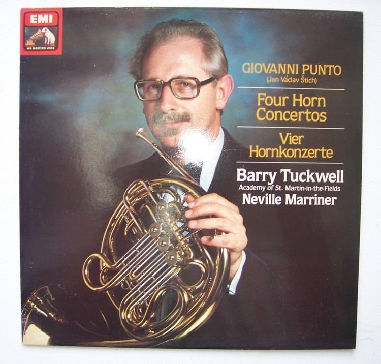 Barry Tuckwell Barry Tuckwell Giovanni Punot 17461803 Four Horn Concertos LP