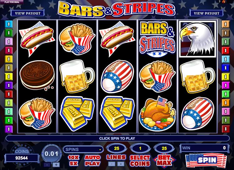 Bars and Stripes Bars And Stripes Slots Review Online Slots Guru